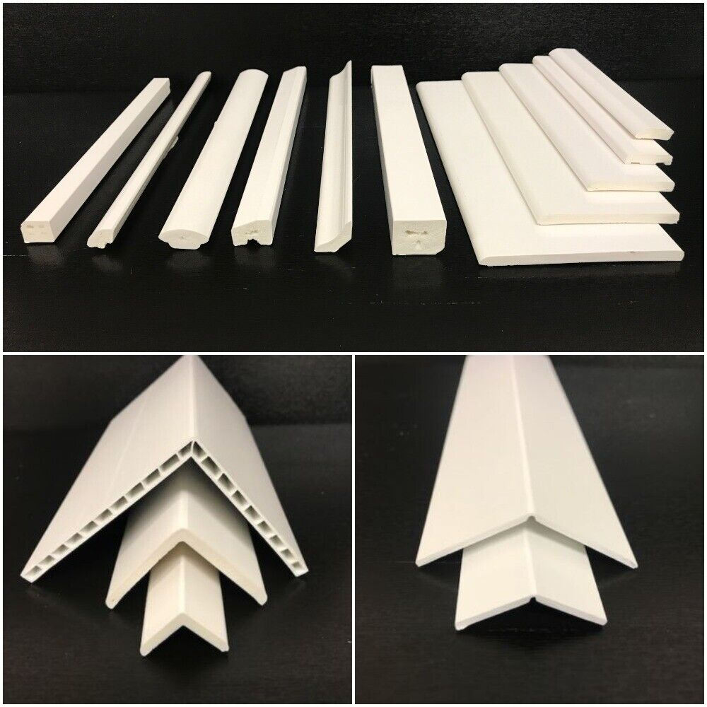 Upvc Window Door Plastic Trim 90 176 Angles Bead Various