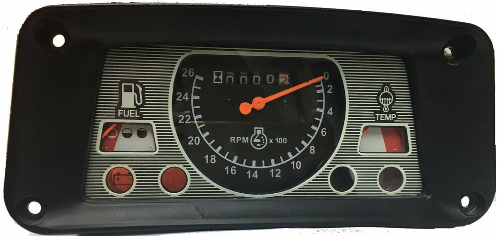 3000 Ford Tractor Instrument Cluster : Instrument gauge cluster for ford tractors