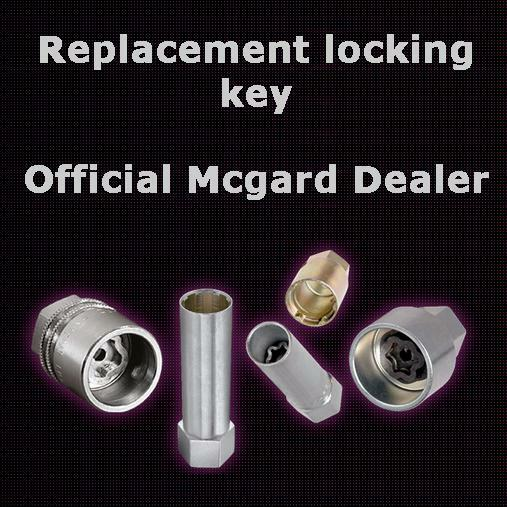 Replacement Mcgard Locking Wheel Nut Bolt Key Ebay