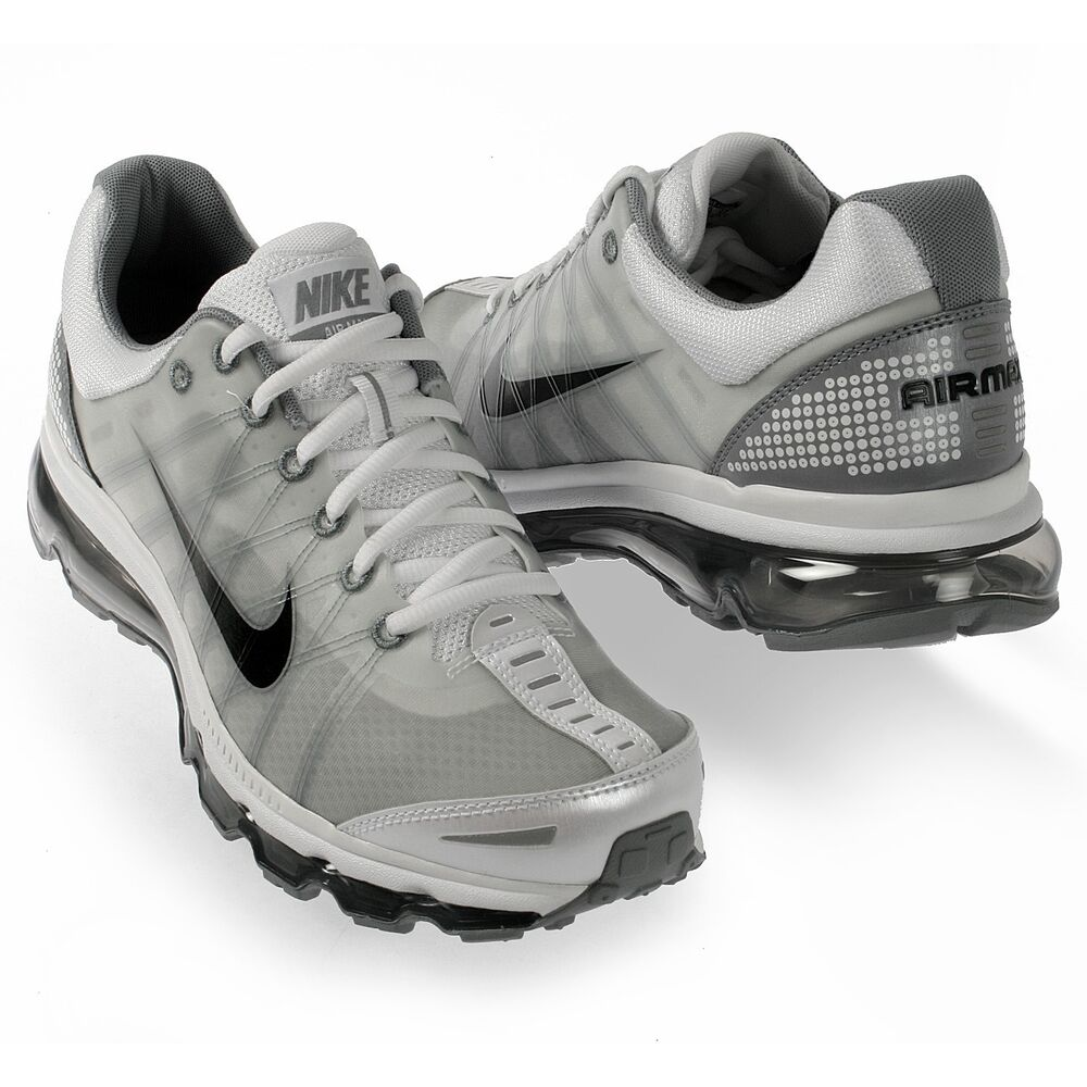 Nike Air Max 2009 Mens Size Classic Running Shoes White