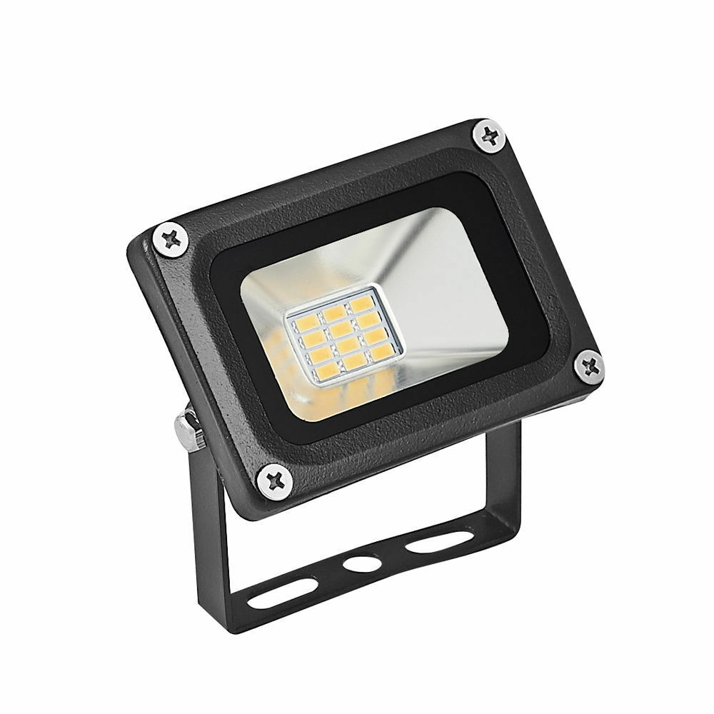 10w watt led flood light outdoor spotlight garden security lamp 12v warm white ebay. Black Bedroom Furniture Sets. Home Design Ideas