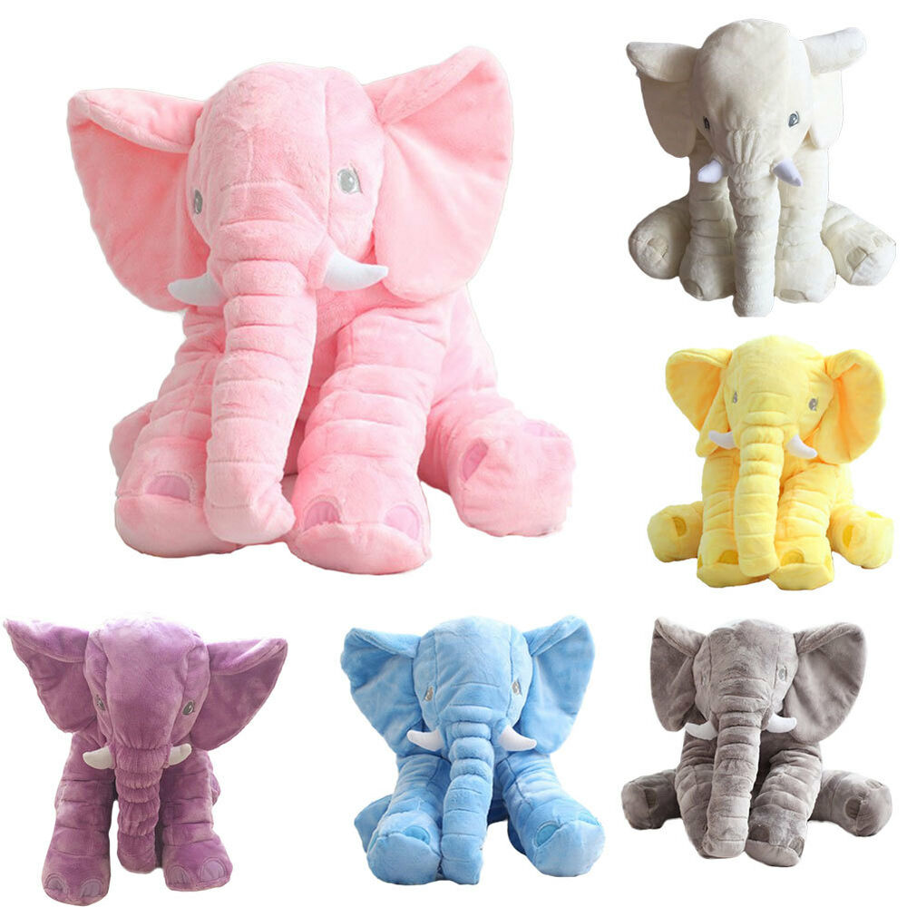 Toys For Elephant : Elephant pillow cushion stuffed doll toy baby kids soft