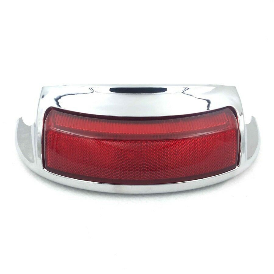 Led Red Auxiliary Rear Fender Tip Light For Harley