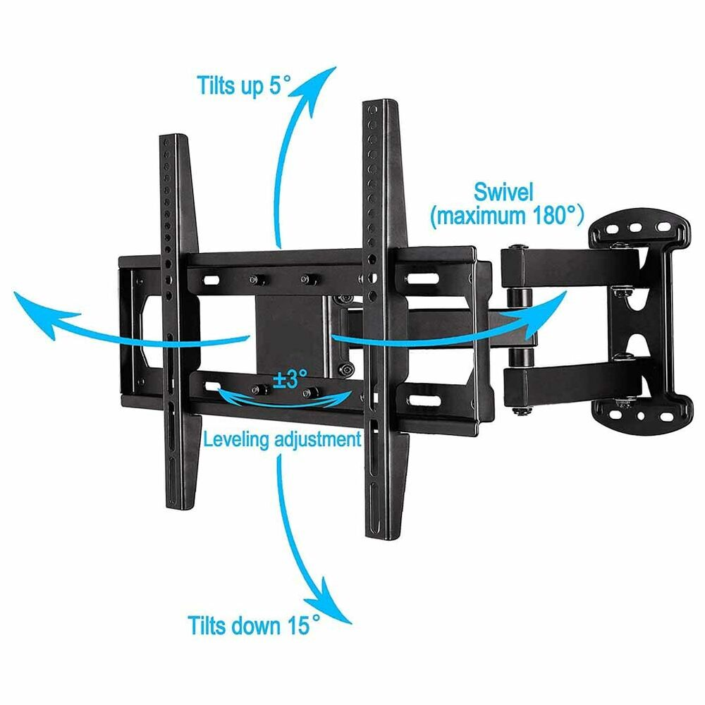 new professional flat screen tv wall mount for samsung sharp supports 30 to 70 ebay. Black Bedroom Furniture Sets. Home Design Ideas