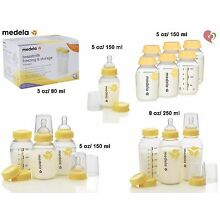 MEDELA BREAST MILK STORAGE COLLECTION BOTTLE 3 oz/80 ml 5 oz/150 ml 8 oz/250 ml