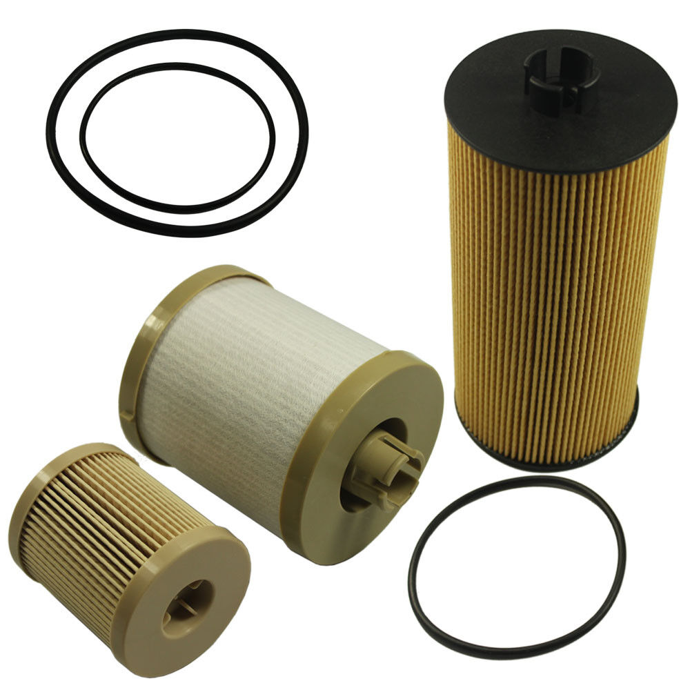 Diesel Oil Filter Fuel Filter Fl2016 Fd4604 For Ford