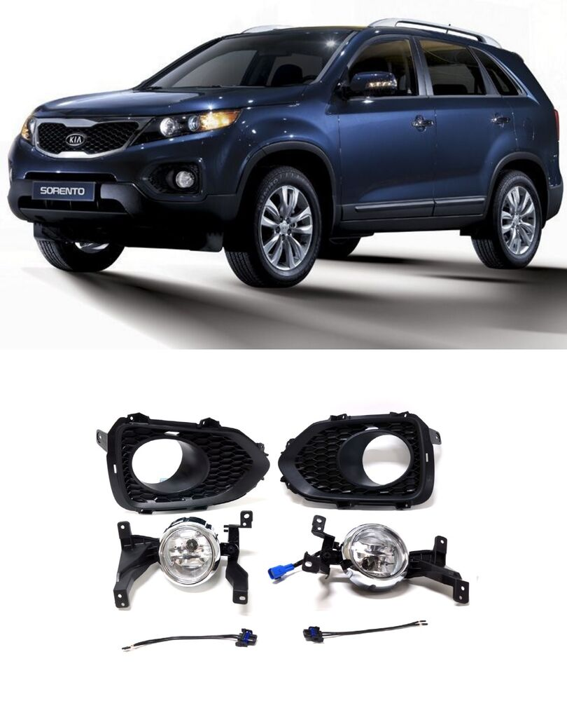 2011 Kia Sorento Accessories: [For KIA Sorento 2011-2013] OEM Fog Lamp Fog Light + Cover