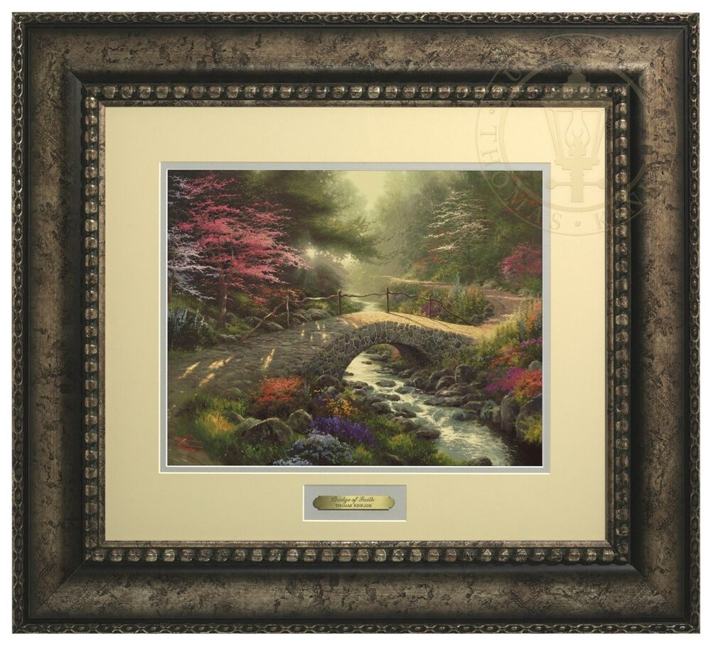 Thomas Kinkade Bridge Of Faith Prestige Home Collection Ebay
