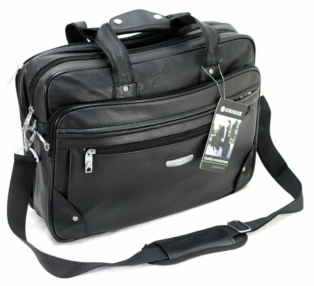 Executive Widescreen Laptop Notebook Business Briefcase Travel Bag Carry Case UK | EBay
