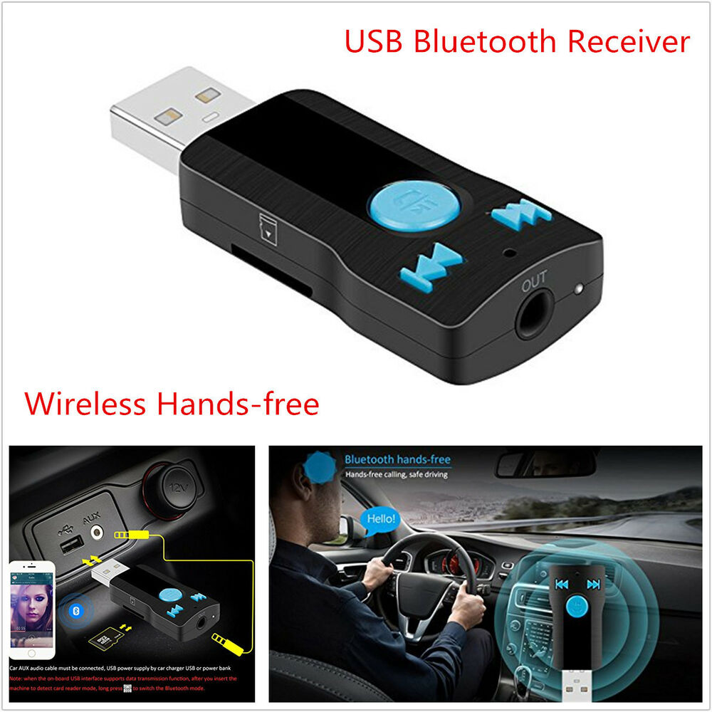 usb bluetooth wireless car kit mp3 speaker stereo. Black Bedroom Furniture Sets. Home Design Ideas