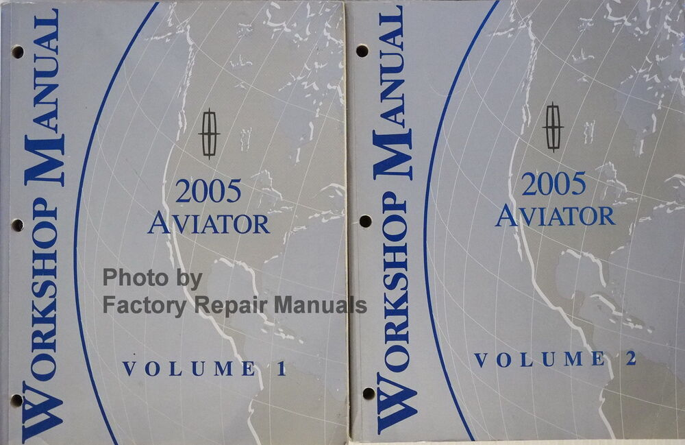 2005 Lincoln Aviator Factory Service Manual Set Original