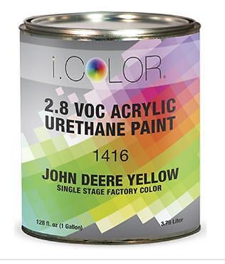 John Deere Yellow Gallon Kit Single Stage Acrylic Urethane Auto Paint Kit Ebay
