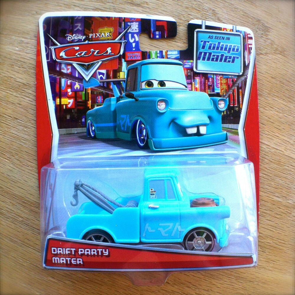 Disney World Of Cars TOON DRIFT PARTY MATER Diecast As In