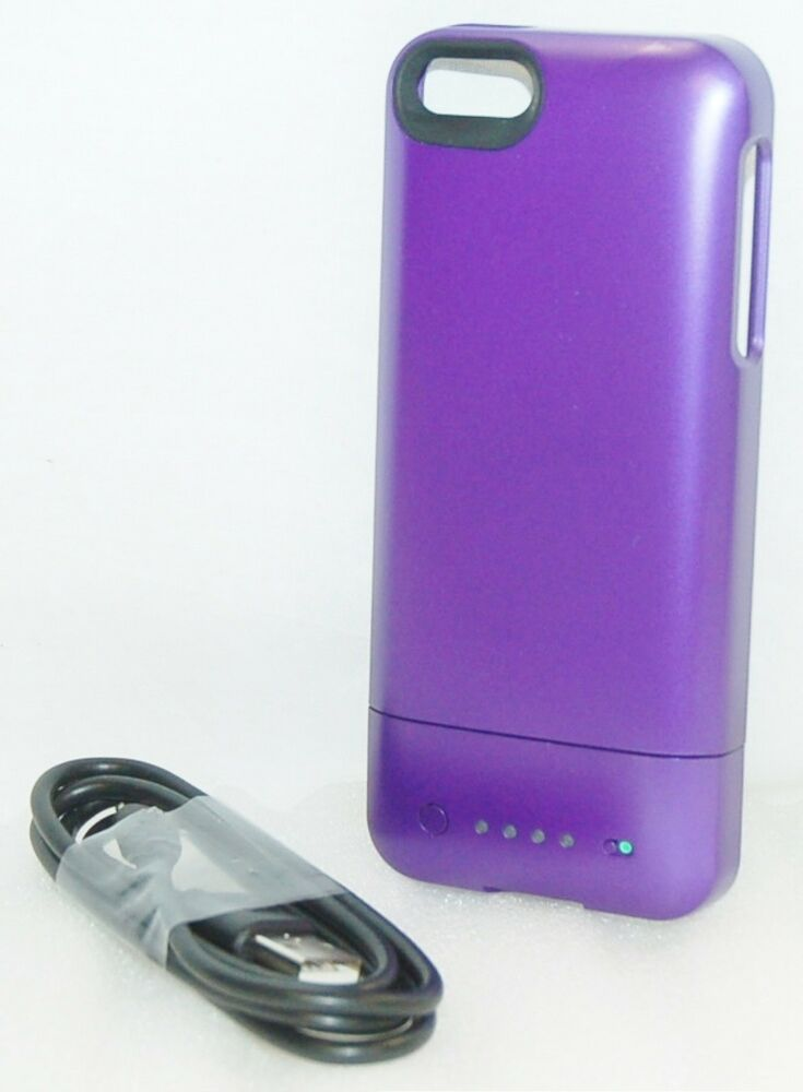 iphone 5 rechargeable case mophie juice pack helium purple apple iphone 5 5s se 14561