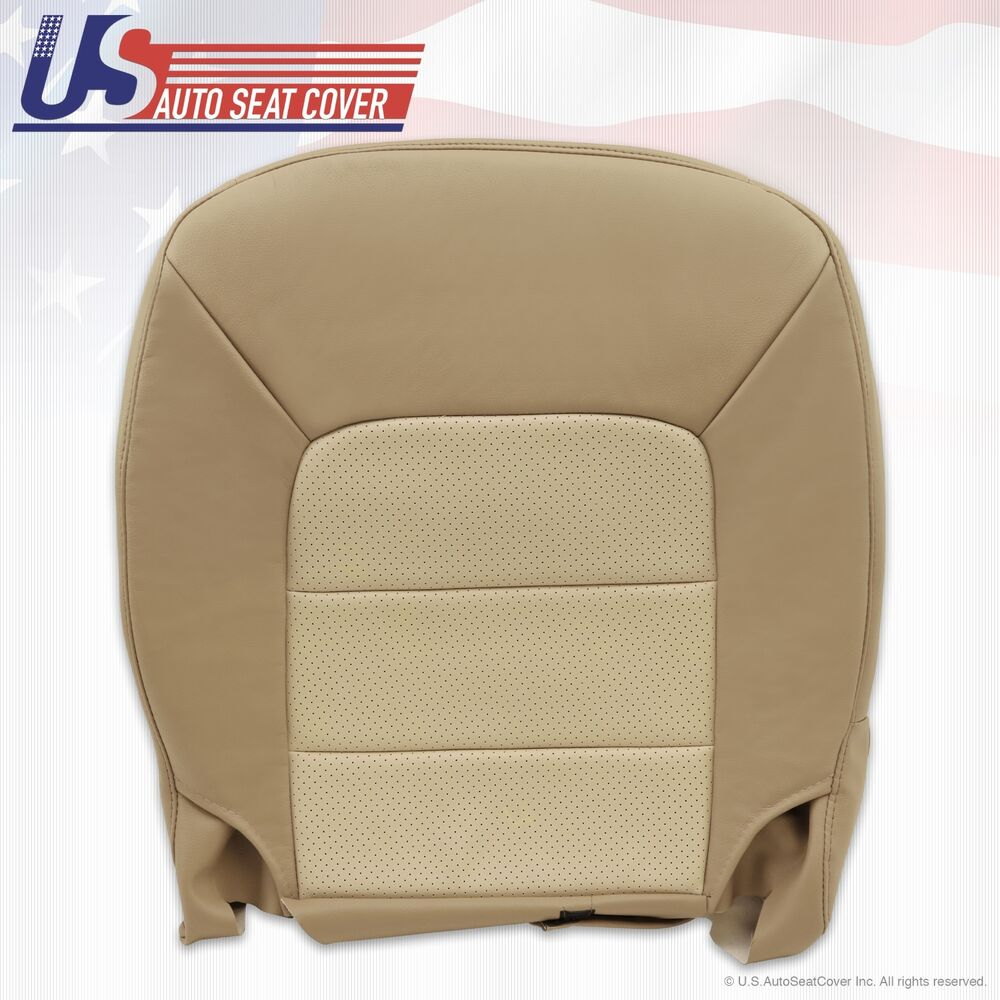 2003 to 2006 ford expedition eddie bauer driver bottom leather seat cover tan ebay. Black Bedroom Furniture Sets. Home Design Ideas
