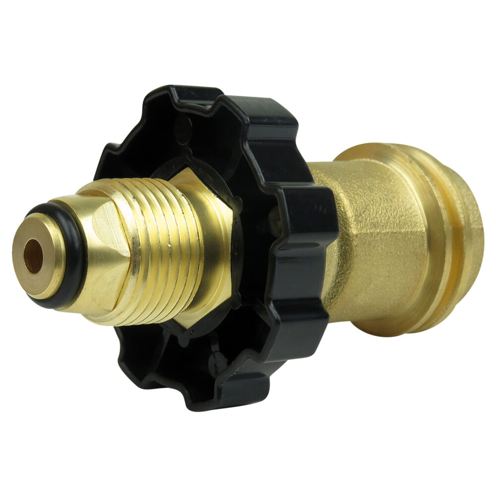 Evelots universal fit propane tank adapters pol to qcc