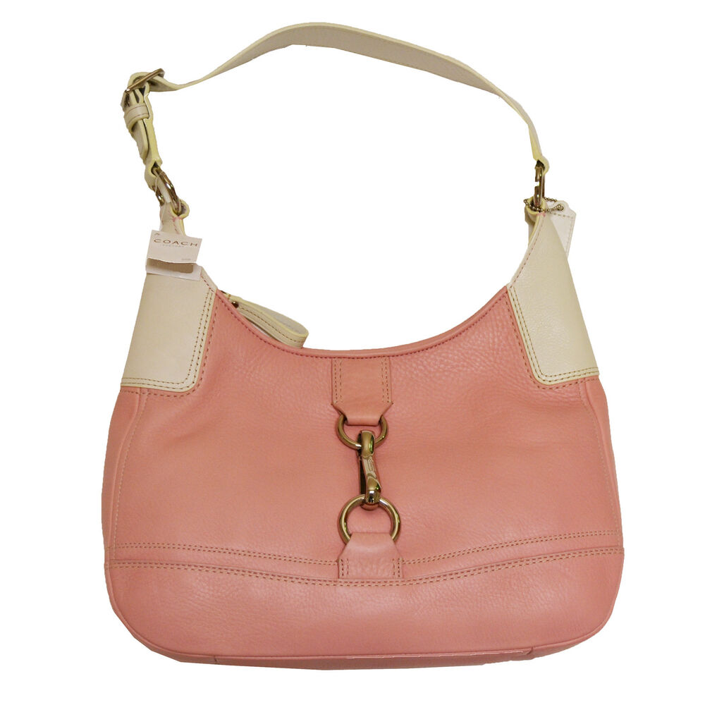Coach Purse Womens Handbag Petal Pink Leather Hamilton ...