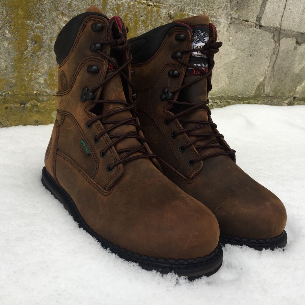 fb96ede6bb63 Details about GEORGIA BOOT MEN S ARCTIC TOE WATERPROOF INSULATED WORK BOOTS  G8162