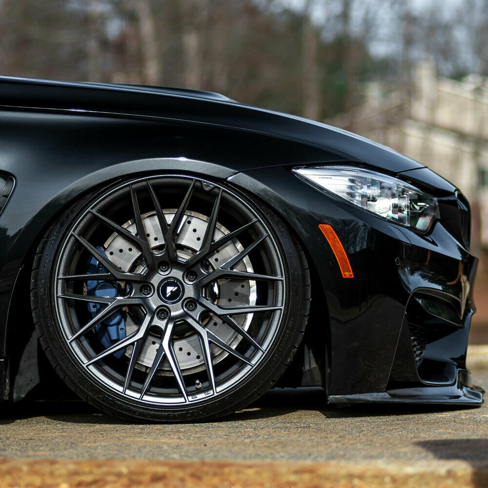 "20"" Vorsteiner V-FF 107 Forged Concave Graphite Wheels"