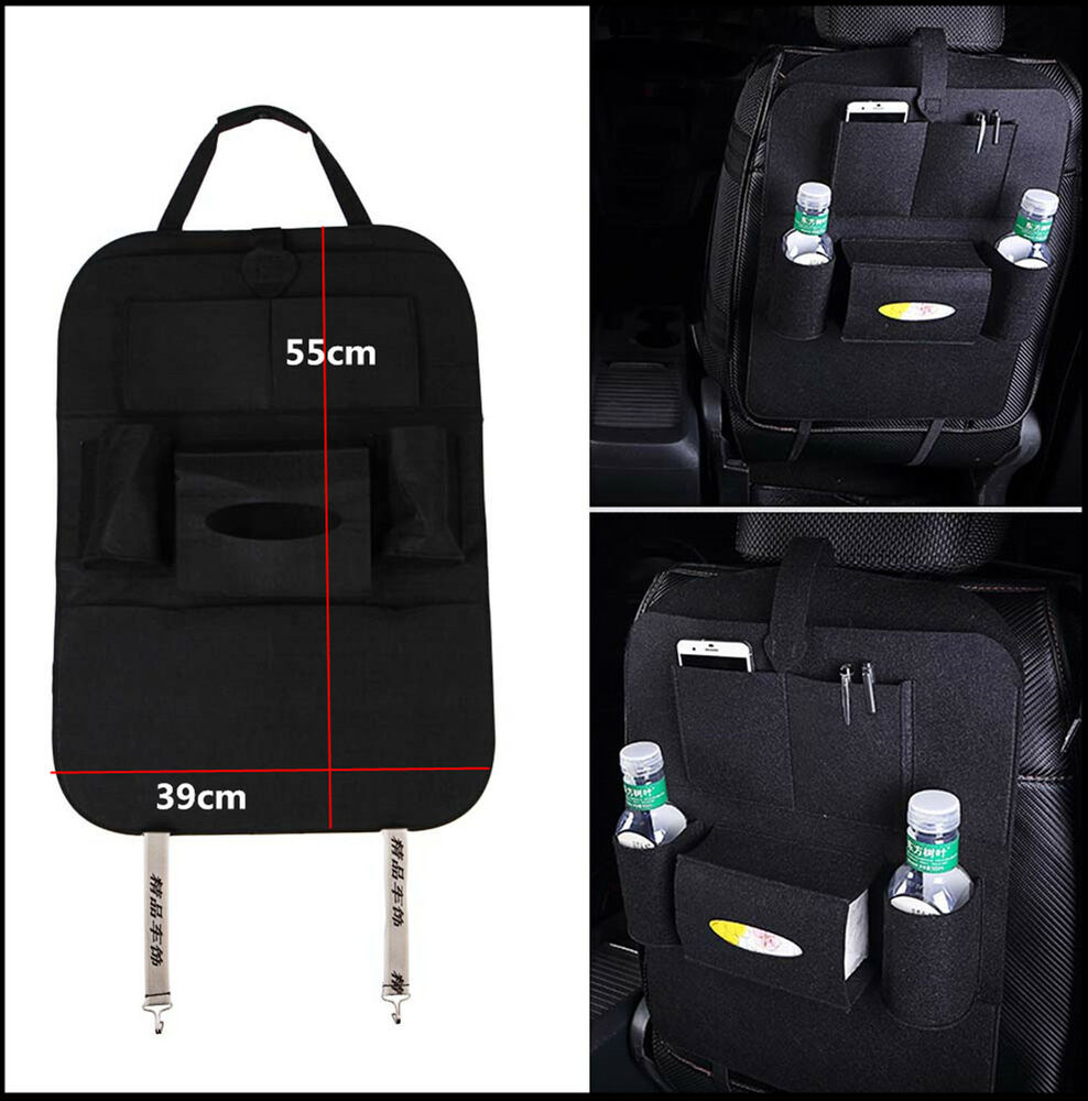 Universal Auto Car Seat Back Multi Pocket Storage Bag