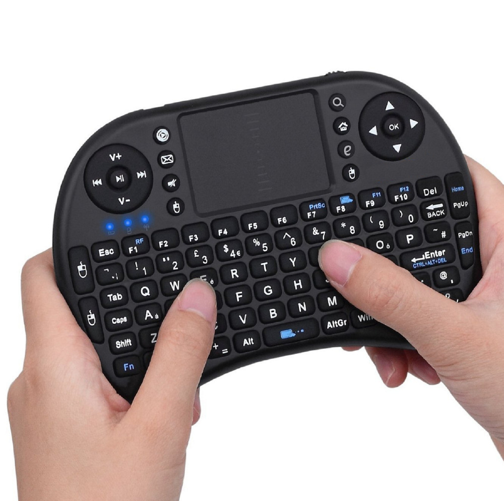 mini wireless keyboard 2 4g with touchpad for pc ps3 xbox android tv new ebay. Black Bedroom Furniture Sets. Home Design Ideas