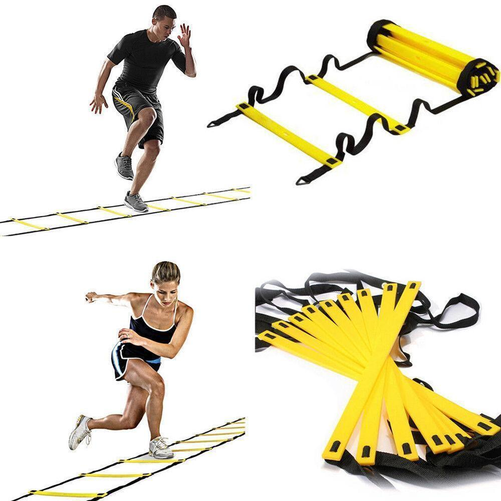 7 13 Rung Agility Ladder Adjustable Speed Training