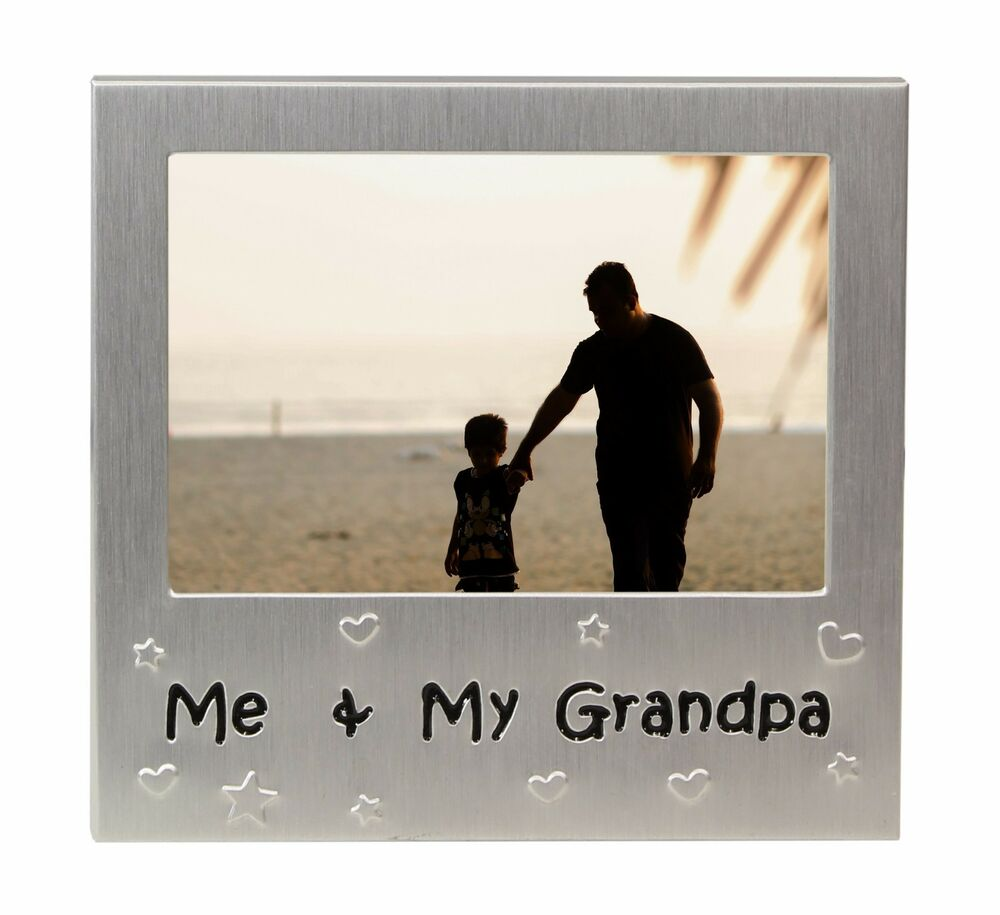 Me & My Grandpa Photo Picture Frame Gift 5\