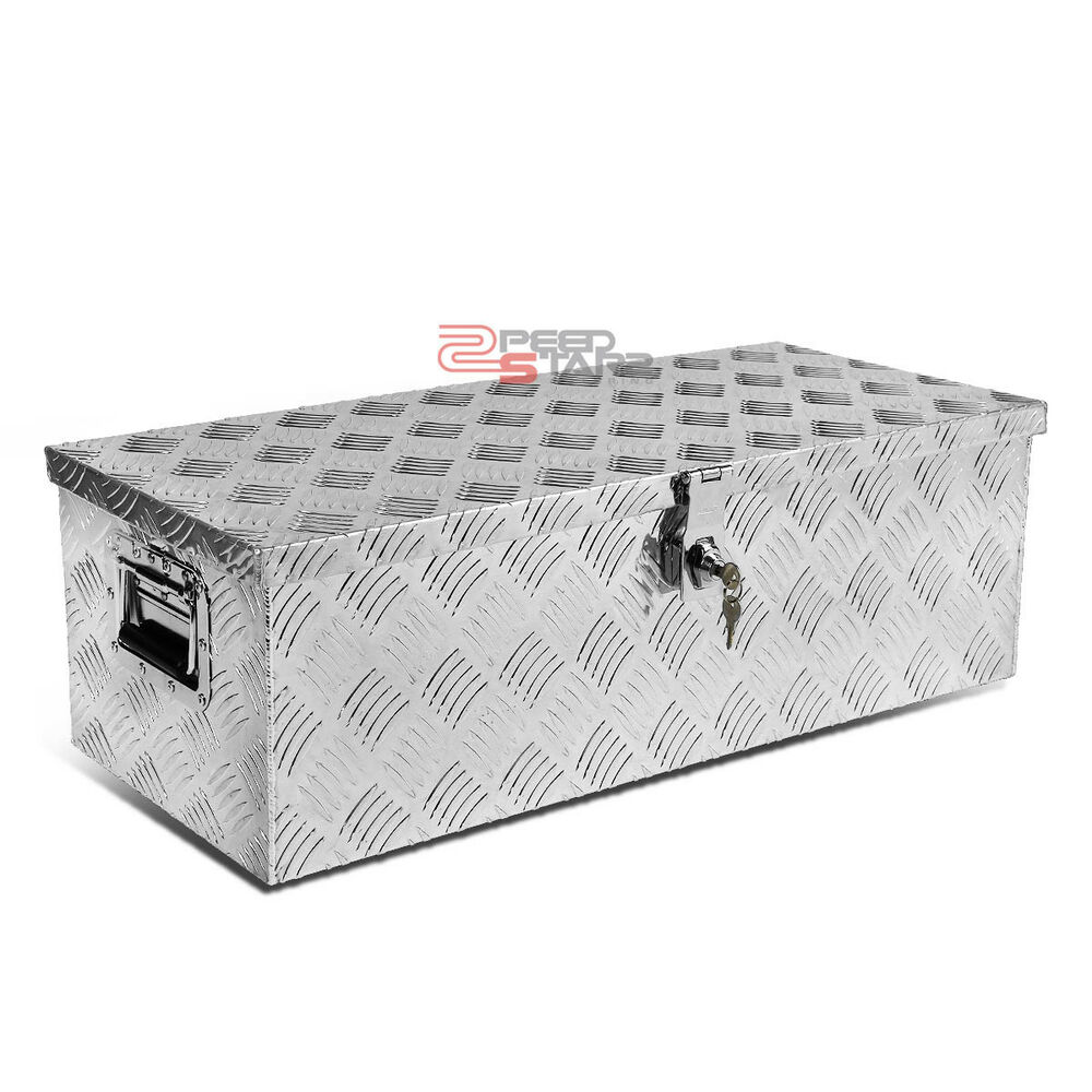 30 aluminum pickup truck trunk flat bed tool box - Pickup bed storage boxes ...