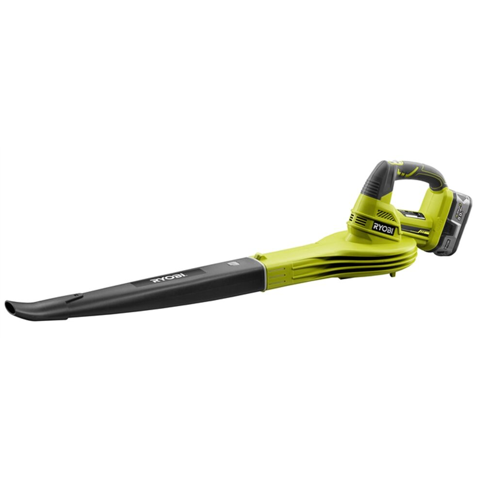 ryobi 18v 5 0ah one cordless blower kit includes battery and charger ebay. Black Bedroom Furniture Sets. Home Design Ideas
