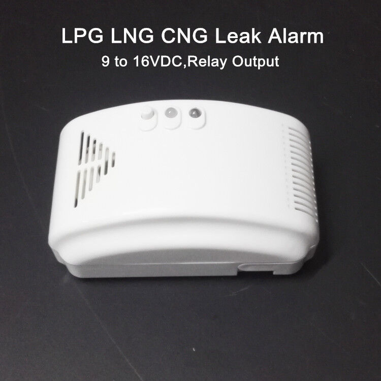 Rv Propane Gas Alarm Lp Gas Lng Cng Leak Detector With Dry