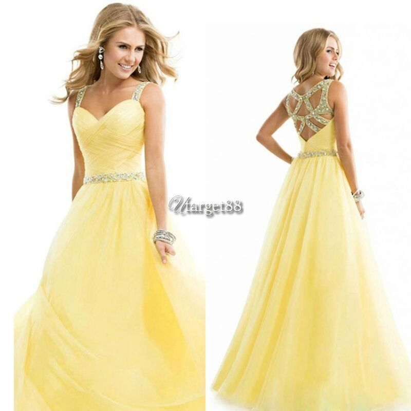 174a782ecb5 Details about Women Formal Wedding Bridesmaid Long Evening Party Ball Prom  Gown Cocktail Dress