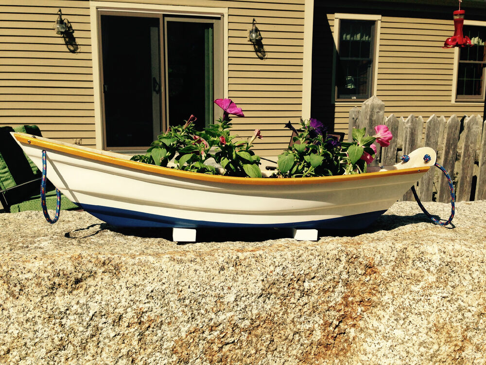Flower box ,planter ,Boat style planters,Handmade ...