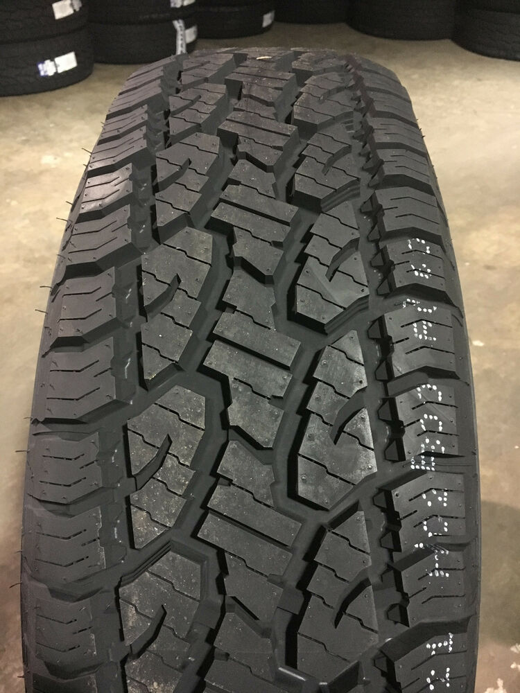 4 new p 275 65 18 4 ply standard load trail guide a t all terrain tires 50k ebay. Black Bedroom Furniture Sets. Home Design Ideas