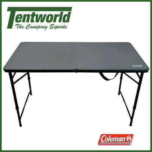 Coleman Table Fold In Half 4ft Camping Outdoor Picnic Portable