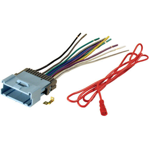 buick chevy gmc aftermarket radio stereo install car wire Scosche Stereo Wiring Harness Sony Car Stereo Wiring Harness