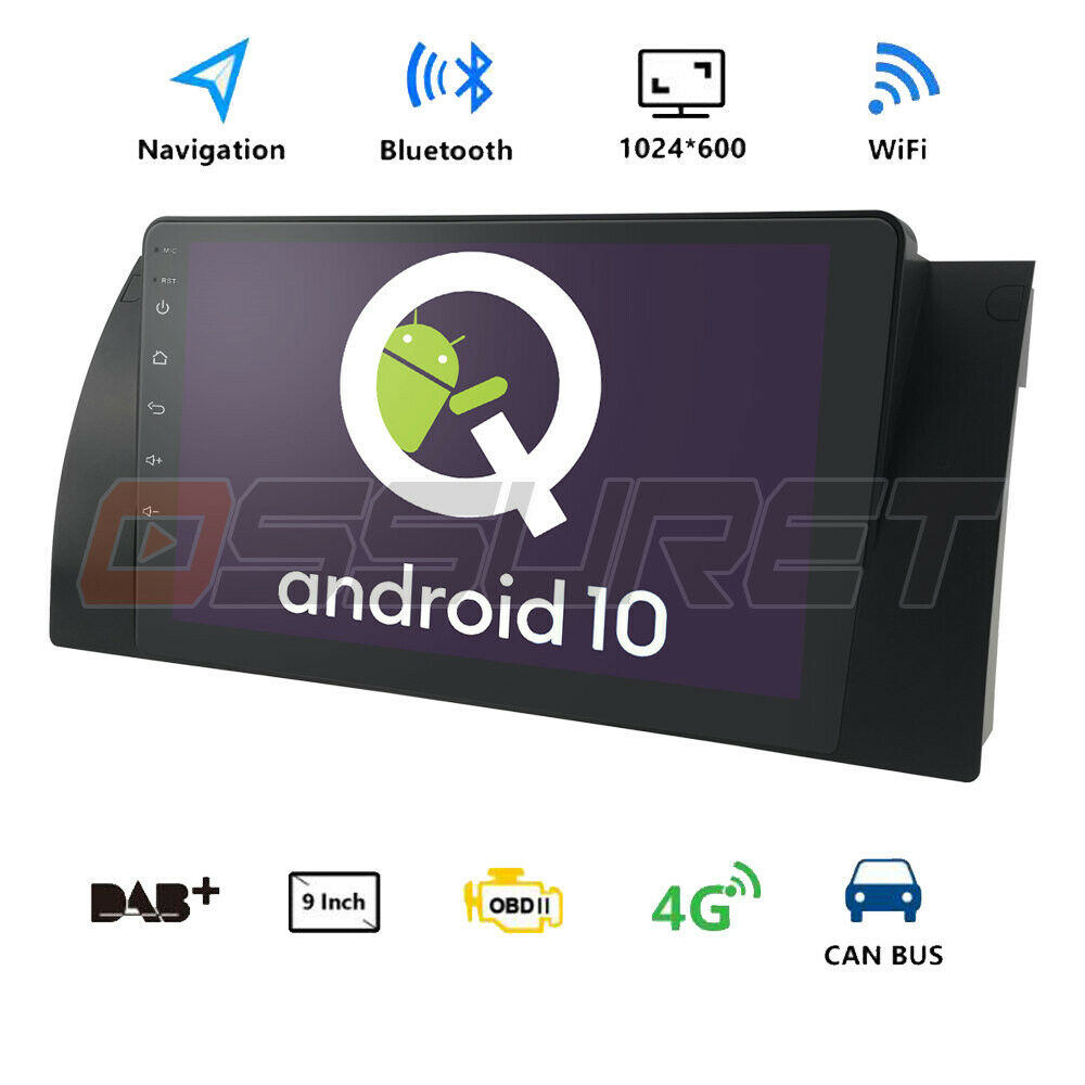 9 touch hd android 6 0 car stereo radio gps obd2 dab for. Black Bedroom Furniture Sets. Home Design Ideas