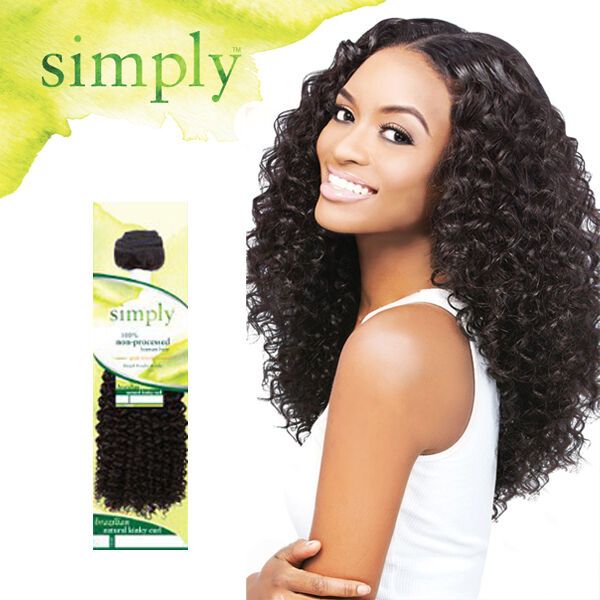 Outre Simply 100 Human Hair Bundle Weave Extension
