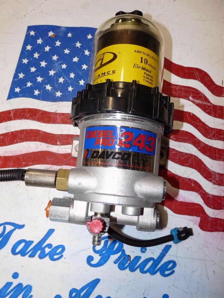 davco diesel pro 243 fuel water separator with the heater