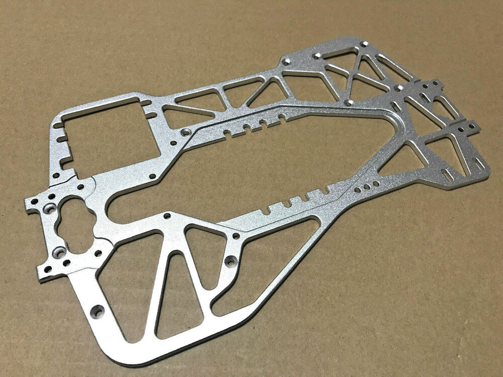 Aluminum web chassis 4 traxxas tmaxx t maxx s 2 5 3 3 for Chassis aluminium
