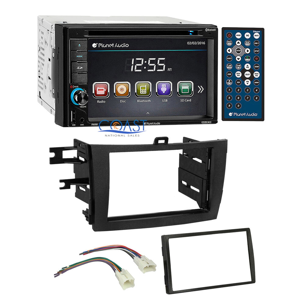 planet audio car radio stereo dash kit wire harness for 2009 13 toyota corolla ebay