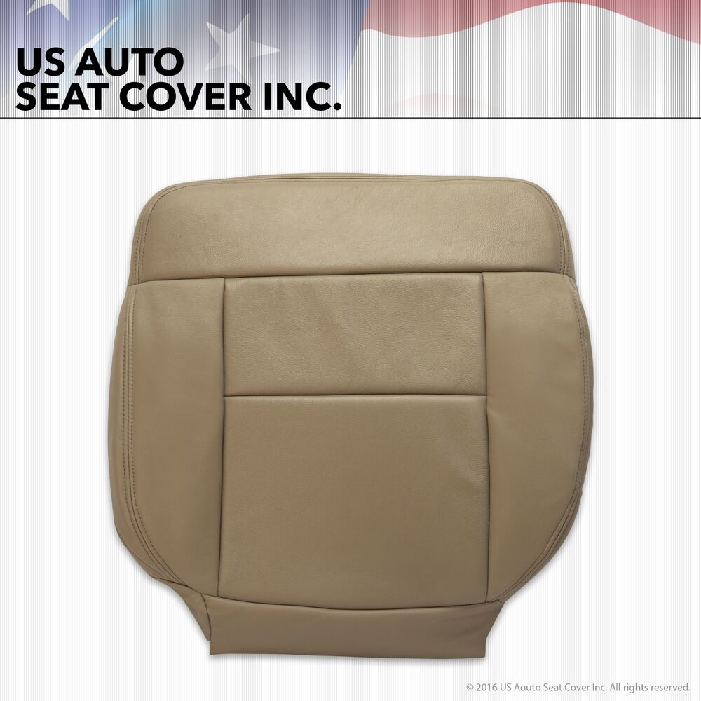 2004 2008 07 Ford F150 Driver Side Bottom Leather Seat