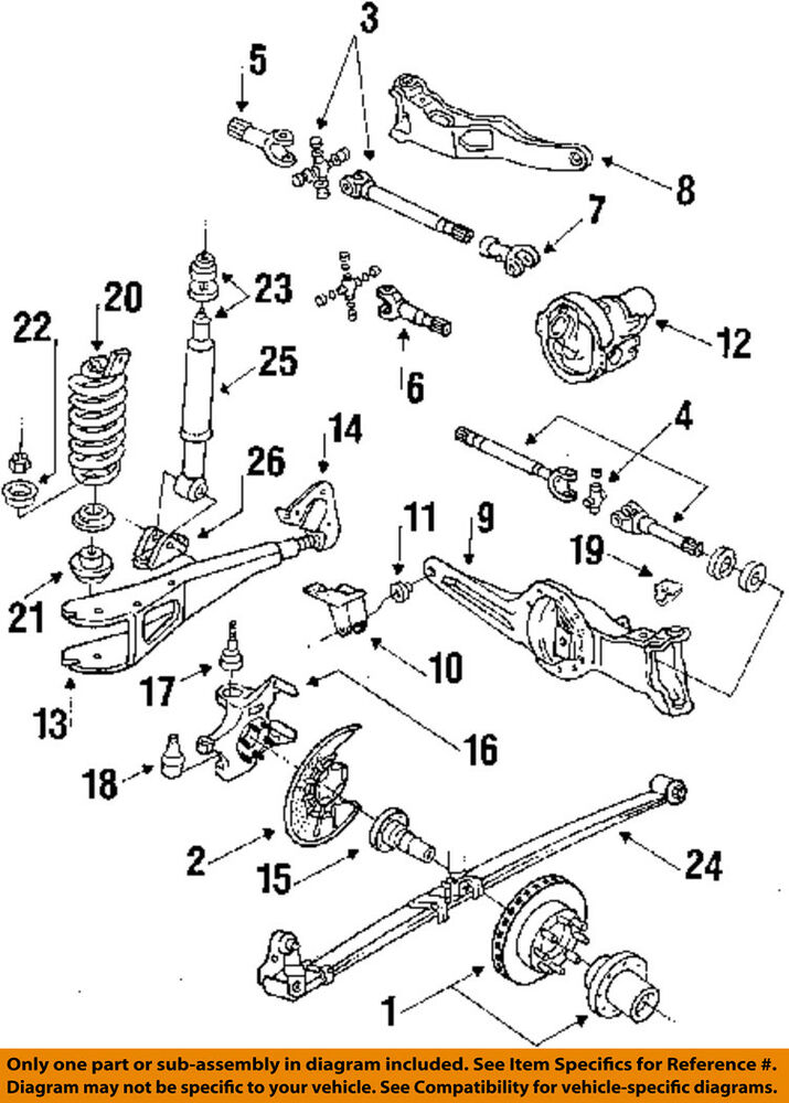 1996 f250 front suspension diagram