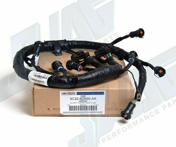 2003 ford 6.0l powerstroke diesel oem ficm fuel injector ... ford injector wiring harness #15