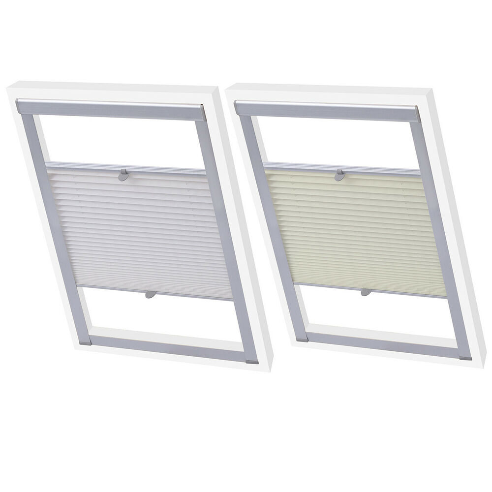 Velux skylight loft roof window pleated blinds covers Velux skylight shade