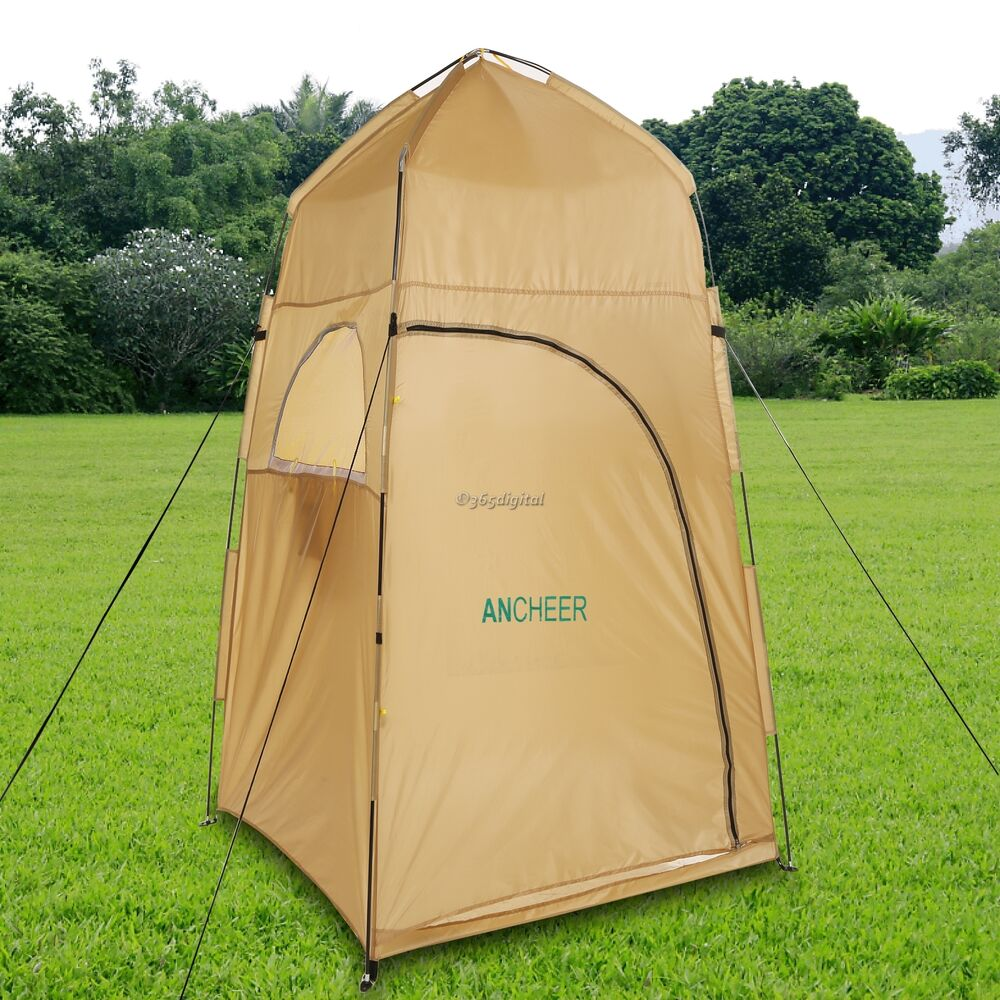 POP UP Camping Changing Tents Shower Toilet Bath Tents