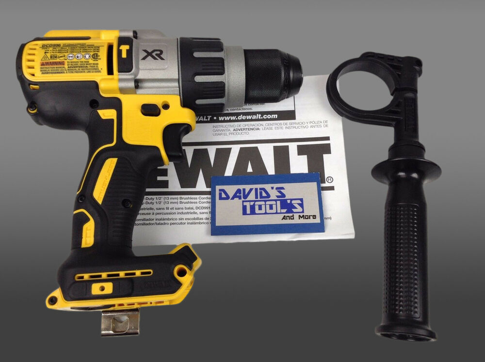 New dewalt dcd996b 20v max lithium ion brushless 3 speed for Dewalt 20v brushless motor
