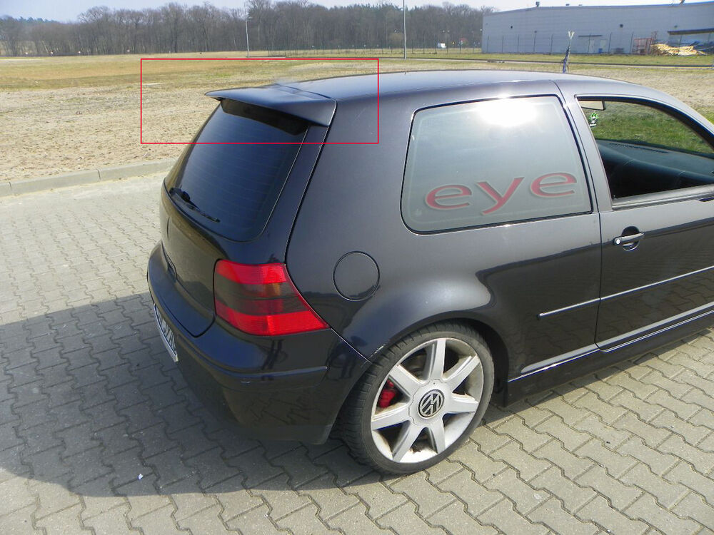 vw golf 4 mk4 iv r32 style aileron becquet spoiler ebay. Black Bedroom Furniture Sets. Home Design Ideas