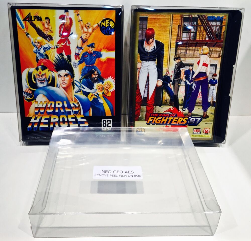 1 Box Protector For NEO GEO AES Game Boxes Standard