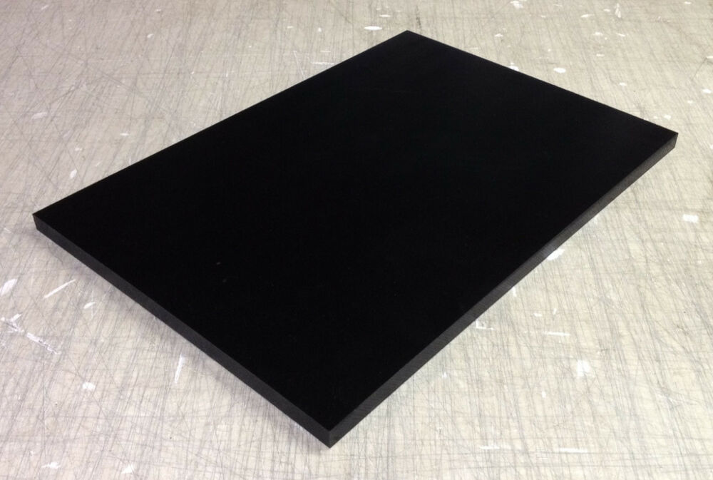 Black Reprocessed Uhmw Plate 3 8 Quot X 24 Quot X 47 1 2 Quot Ebay