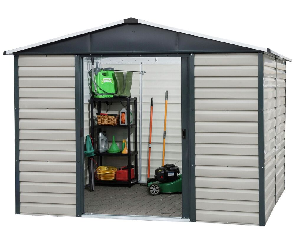 Yardmaster 10 X 12 Extra Tall Metal Shiplap Shed From The